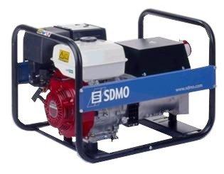Stromerzeuger:                     SDMO - HX 5000 T