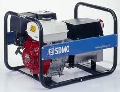 Stromerzeuger:                     SDMO - HX 5000 T C