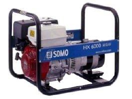 Stromerzeuger:                     SDMO - HX 6000