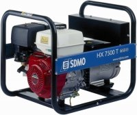 Stromerzeuger:                     SDMO - HX 7500 T