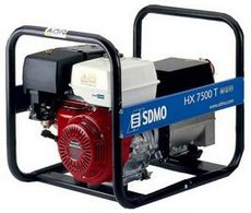 Stromerzeuger: SDMO - HX 7500 T C
