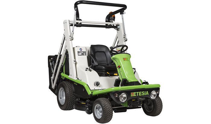 Aufsitzmäher:                     Etesia - H 124 DL