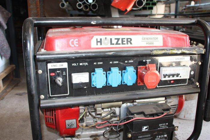 Mieten                                          Stromerzeuger:                     Holzer - H 5000 (mieten)