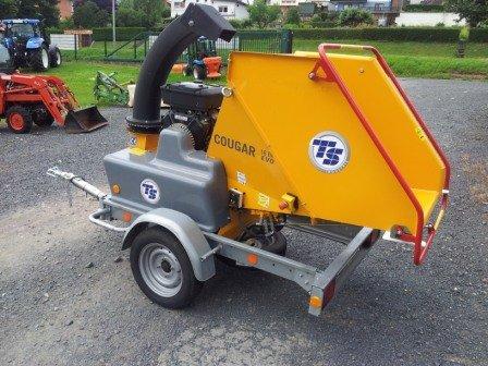 Gebrauchte                                          Gartenhäcksler:                     TS Industrie / Tünnsisen  - Häcksler Cougar 18 ER EVO (gebraucht)