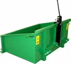 Ladewerkzeuge:                     STANDARD - Heckcontainer 1,50m, mechanisch, pulverbschichtet