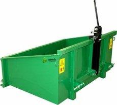Angebote  Ladewerkzeuge: STANDARD - Heckcontainer 1,50m, mechanisch, pulverbschichtet (Aktionsangebot!)