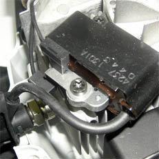 Kompromissloser Leichtbau: Eigens für leichte Heckenscheren entwickelte, kompakt gebaute Motor- und Getriebeeinheit.