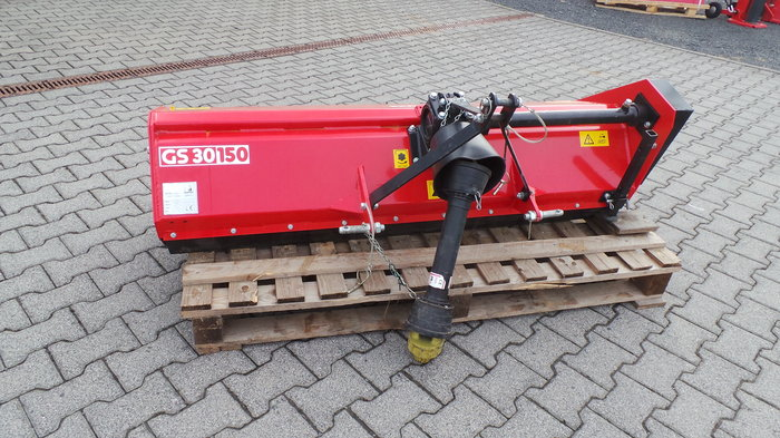 Gebrauchte                                          Grünlandtechnik:                     AGRITEC - Heckmulchgerät GS 30 150 (gebraucht)