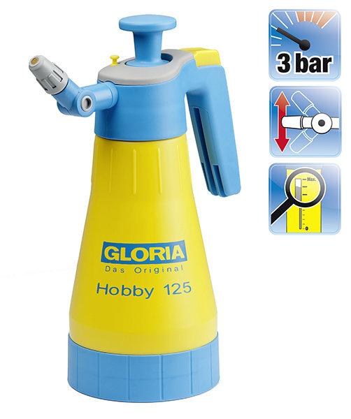 Sprühgeräte:                     Gloria - Hobby 125