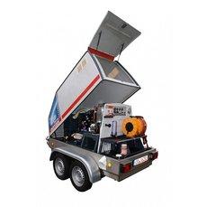 Kaltwasser-Hochdruckreiniger: Oertzen - Hochdruckreiniger Powertrailer 500 Arbeitsanhänger
