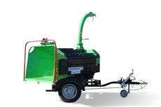 Mieten  Holzhäcksler: GreenMech - Holzzerkleinerer QuadChip 160 (mieten)