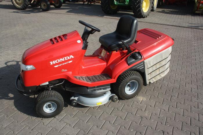 Gebrauchte                                          Aufsitzmäher:                     Honda - Honda Aufsitzmäher HF2417HB (gebraucht)