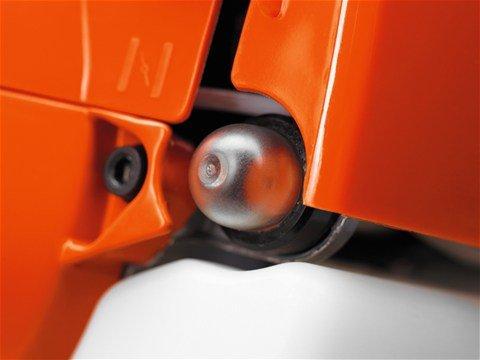 Kraftstoffpumpe für schnelles, besonders einfaches Starten.