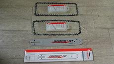Angebote  Motorsägen: Sägeketten + Schienen - Husqvarna AKTION 1 x Schiene mit 2 x Kette (Aktionsangebot!)