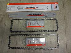 Angebote  Motorsägen: Sägeketten + Schienen - Husqvarna Profi AKTION 1 x Schiene mit 2 x Kette (Aktionsangebot!)