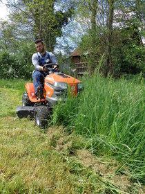 Angebote  Hochgrasmäher: Husqvarna - TS 342 Agrassic Profi Traktor (Aktionsangebot!)