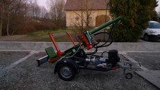 Mieten Holzspalter: Posch - HydroCombi 13 E5,5D-V2 +L (mieten)