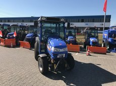 Gebrauchte  Kompakttraktoren: Iseki - ISEKI  TH4365 AHL (gebraucht)