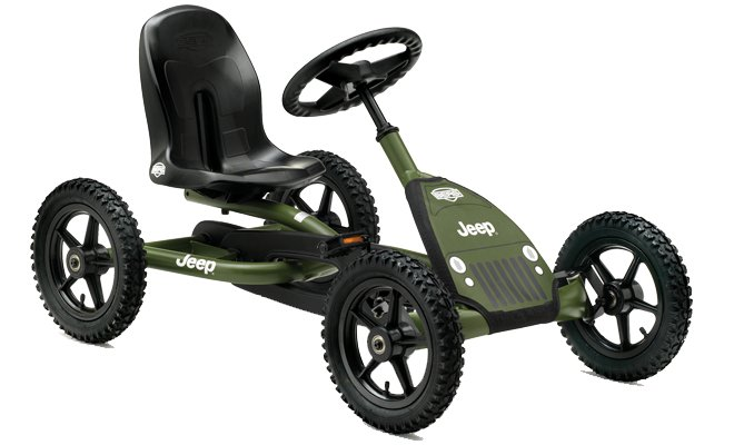Go Carts:                     BERG Toys - Jeep Junior pedal-Gokart