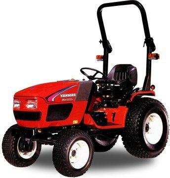 Kompakttraktoren:                     Yanmar - KE 200H ohne Räder