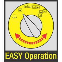 EASY Operation - ein einfaches Bedienprinzip für Kehrund Scheuersaugmaschinen - von Maschine zu Maschine übertragbar: einmal verstanden, lassen sich Kehr- und Scheuersaugmaschinen ohne erneute Anlernzeiten steuern - einfach zu erlernen durch selbsterklärende und sprachunabhängige Symbole - erhöhte Maschinenlaufzeit durch Fehlervermeidung - Steigerung der Gesamtlebensdauer der Maschine - Effizienzsteigerung durch Reinigungsprogramme, die speziell auf die jeweilige Anwendung abgestimmt sind.