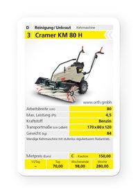Mieten Kehrmaschinen: Cramer - KM 80 H (mieten)