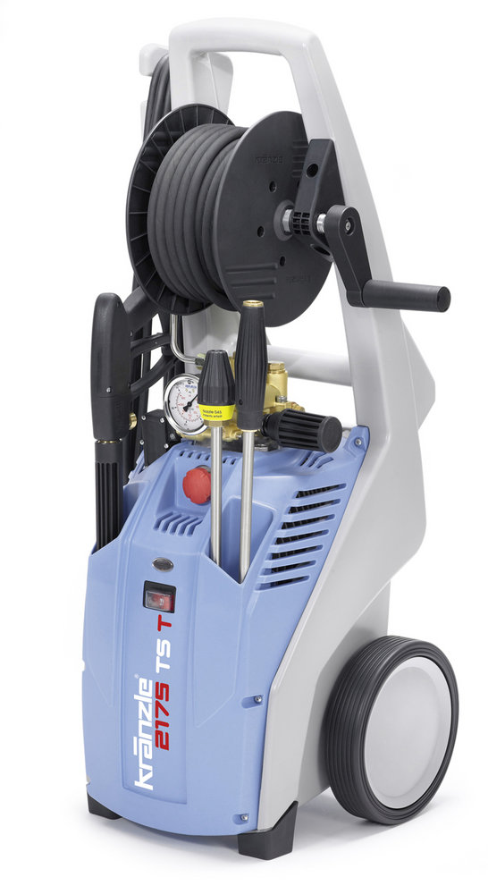 Kaltwasser-Hochdruckreiniger:                     Kränzle - K 2175 TS T mit Schmutzkiller