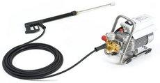 Kaltwasser-Hochdruckreiniger: Kränzle - Profi-Jet D 16 / 220 mit Edelstahlfahrgestell, Schlauchtrommel