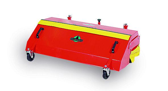 :                     Herkules - Kehrmaschine 100 cm inklusive Sammelbehälter