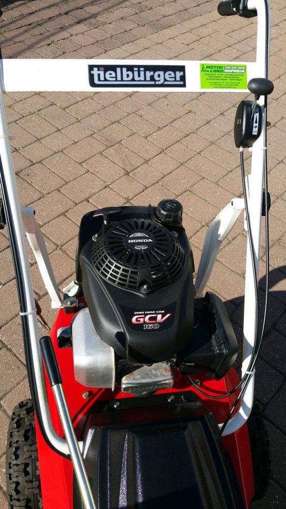 """Gebrauchte                                          Kehrmaschinen:                     Tielbürger -  Kehrmaschine TK 38 Pro Gebrauchtgerät """"TOPZUSTAND"""" (gebraucht)"""