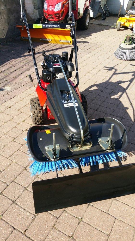"""Gebrauchte                                          Kehrmaschinen:                     Tielbürger - Kehrmaschine TK 45 H Gebrauchtmaschine """"TOPZUSTAND"""" (gebraucht)"""