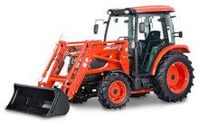 Allradtraktoren: KIOTI - Kioti NX6010CH mit Frontlader - Hydrostat  - Ideal für den Bauhof / Winterdienst und ähnliches