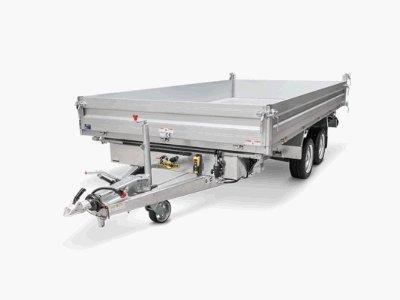 Anhänger:                     Humbaur - Kipper und Maschinentransporter HTK 3500.31 / 3017