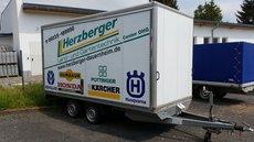 Mieten  Anhänger: Böckmann  - Kofferanhänger CHLK 4118 (mieten)