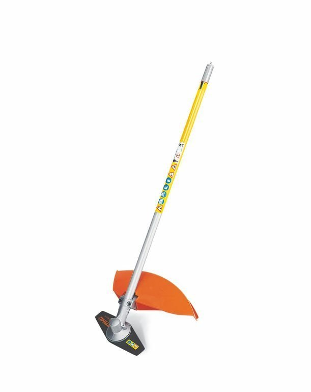 Mieten                                          Motorsensen:                     Stihl - Kombi-Werkzeug  Sense FS-KM m. Grasschneideblatt (zzgl. Grundmaschine KMA130R oder KM131R) (mieten)