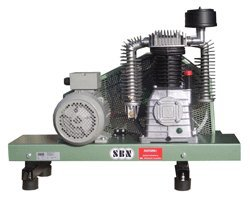 Druckluftkompressoren:                     SBN - Kompressorenbrücke 950/16/2/