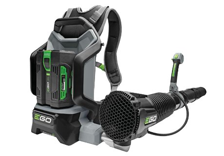 Akkulaubbläser & -sauger:                     EGO Power Plus - LB6000E Kraftvolles Rückenblasgerät