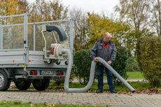 Laubsauger: Eliet - Truckloader 18 PS B&S Vanguard ES inkl. Elektrostart + 3,5 m Saugschlauch