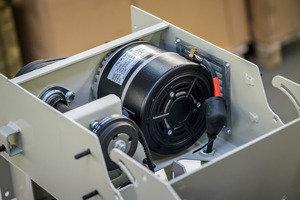 Schwerer Industriemotor  3 KW / 36 Volt