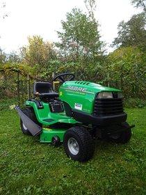 Gebrauchte  Geländemäher: Husqvarna - LTH 126 - Agrassic-Hochgras-Traktor (gebraucht)