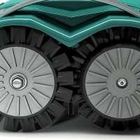 Allradantrieb  das Antriebssystem des L60 ermöglcht dem Roboter eine exzellente Steigfähigkeit bei rutschigen oder unebenen Gelände.