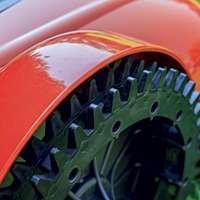 Selbstreinigende Räder  Geschlossenes und selbstreinigendes Profilrad