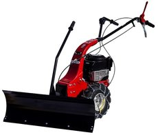 Angebote  Winterdienst: Lumag - KM 800 Schmutz- und Schneekehrmaschine - SET inkl. Schneeschild und Kehrgutbehälter (Aktionsangebot!)