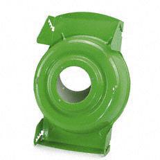 Stahlblechgehäuse  Die Stahlblechkonstruktion macht das Gehäuse verwindungssteif und robust.