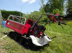 Angebote  Allzwecktransporter: Meccanica Benassi - MB 3500 HONDA PRO OHV Raupentransporter (Aktionsangebot!)
