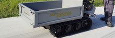 Gebrauchte Transporter: Meccanica Benassi - MB 3500 Profi'T' Raupentransporter STARK mit XXTraVorteil Ausstellungsgerät * NICHT * (gebraucht)