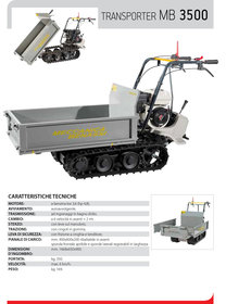 Transporter: BRAVO - Akku-Schubkarren