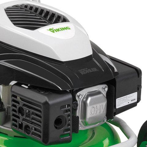 Smart Choke-Motor  Der entscheidende Startvorteil: Einfach, kraftsparend und sicher Starten. Die Choke-Automatik erleichtert das Starten des Rasenmähers sowohl bei kaltem als auch warmen Motor.