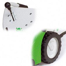 3-Gang-Radantrieb: Komfortable Steuerung der Antriebsgeschwindigkeit über drei Vorwärtsgänge.
