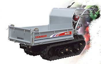 Allzwecktransporter:                     Yanmar - MCG 95 (Ladefläche mechanisch kippbar)